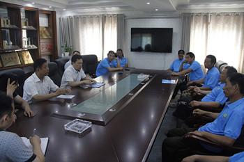 信阳灵石落实5月份厂区安全卫生突击检查结果