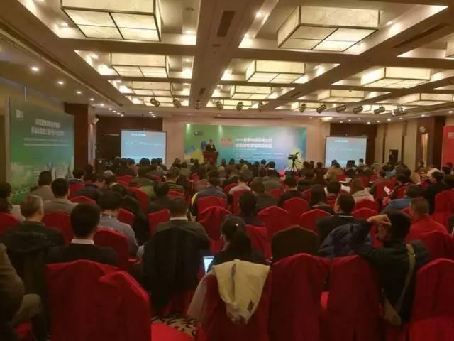 """""""标杆的力量:2016年首届中国混凝土行业精细化管理高峰论坛""""现场。"""