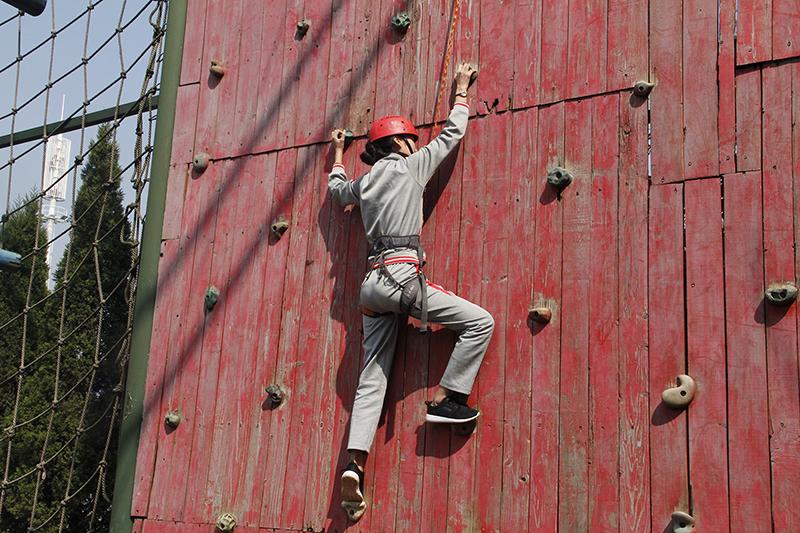 攀岩·挑战自我