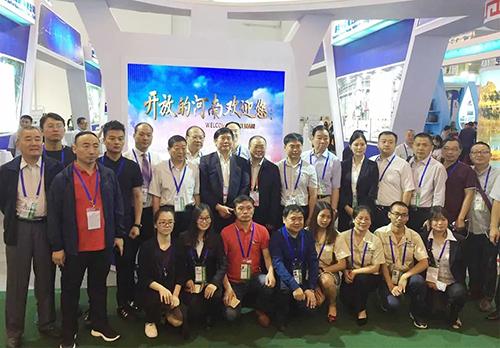 信阳灵石参加2018昆明南博会