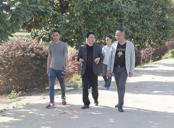 【金灵鉐】—欢迎浙江温州客户来信阳灵石考察