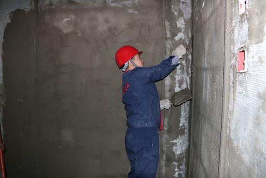 内墙抹灰的基础处理