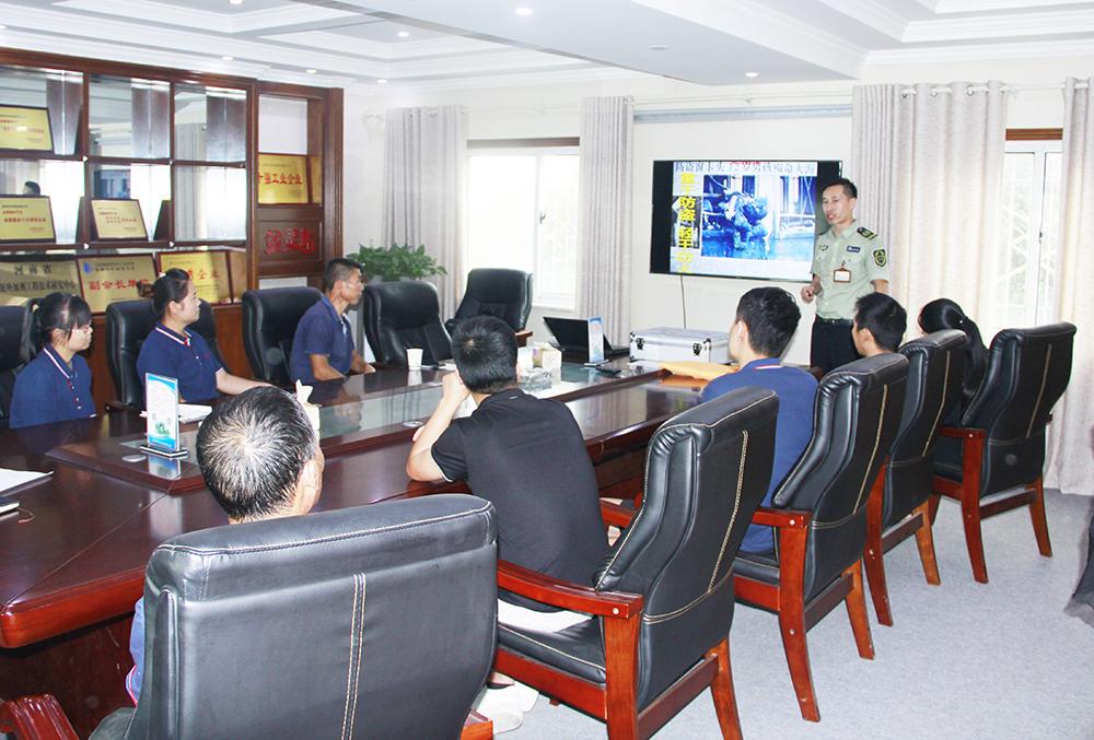 灵石科技开展消防安全知识课程培训活动